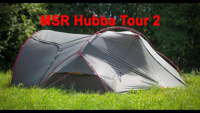 Test af MSR Hubba Tour 2