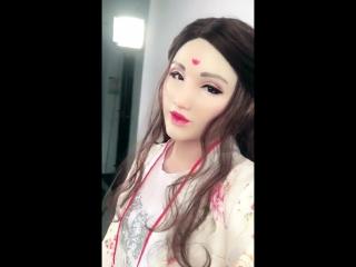 Eyung elsa angel face realistic silicone female masks