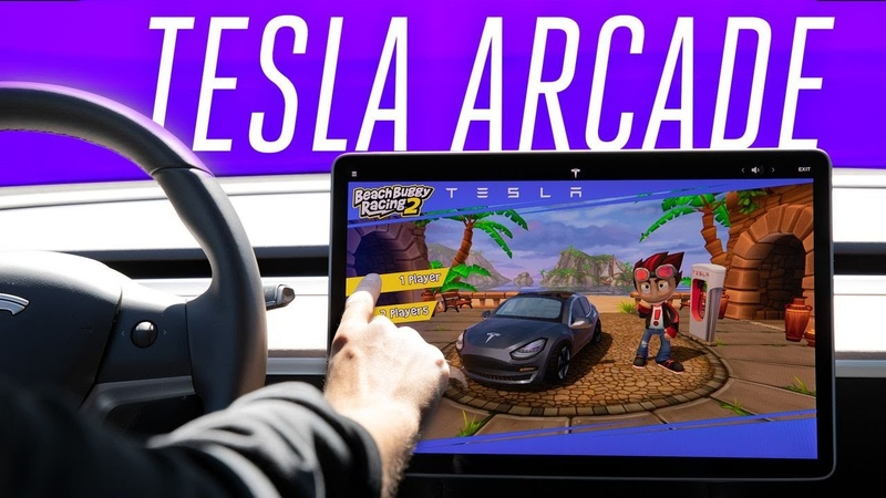 Tesla Arcade hands-on the Model 3 is your video game console