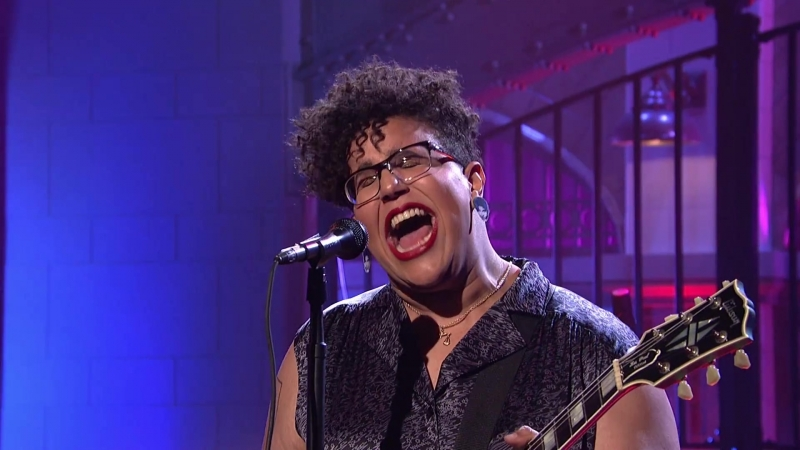 Бриттани Ховард | Alabama Shakes | Gimme All Your Love (Live on SNL)