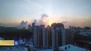 Жителям Екатеринбурга удалось полюбоваться редким оптическим феноменом гало