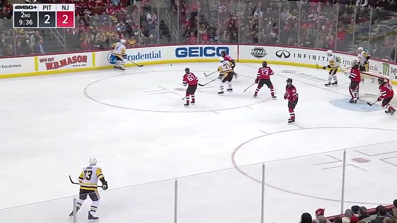 Pittsburgh Penguins vs New Jersey Devils | Feb.19, 2019 | Game Highlights NHL 2018/19 | Обзор матча