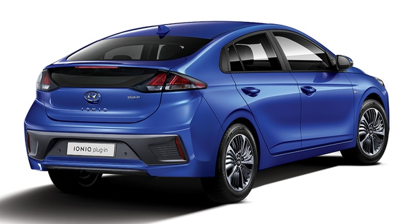 Рестайлинговый Hyundai Ioniq разжился новой электроникой
