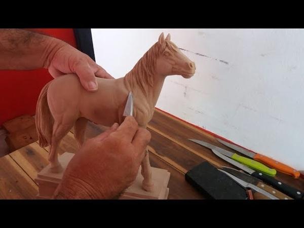 Лошадь в процессе