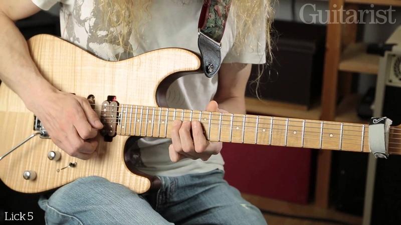Guthrie Govan String Bending Masterclass Part One