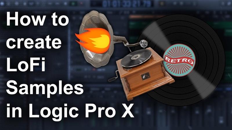 🎹 How to make Lofi Samples in Logic Pro X | Free Vinyl Effect Plugin | Logic Pro X Tutorial
