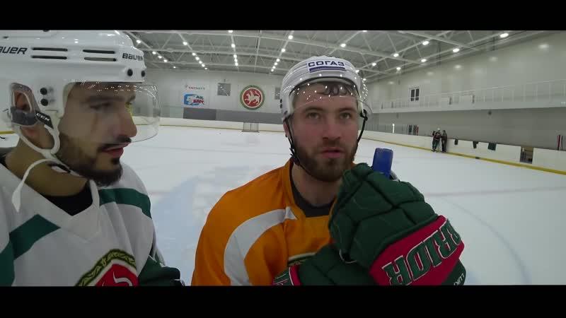 АК БАРС - первый футболист в хоккее - 3 дня с чемпионами КХЛ - самый мясной хоккеист. 16 серия
