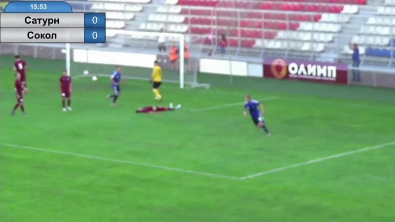 Гол Дмитрия Никитинского в матче с «Соколом»