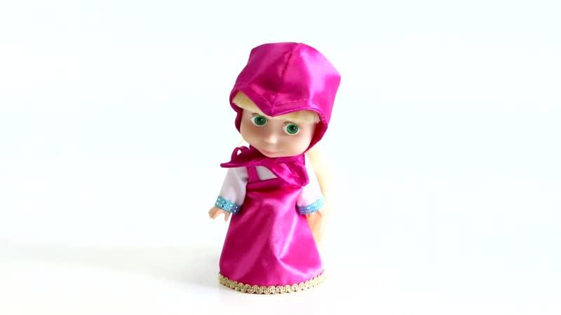 Карапуз Кукла Маша из м ф Маша и Медведь Звуковые эффекты аксессуары для волос 210095