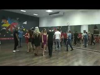 Zona de baile 1-й этап конкурса Jack&Jill по версии UBA