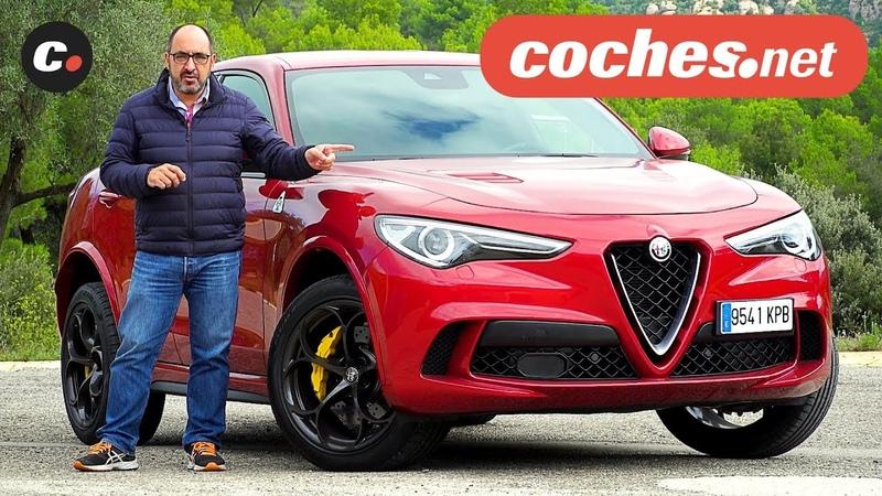 Alfa Romeo Stelvio Quadrifoglio | Prueba / Test / Review en español | coches.net