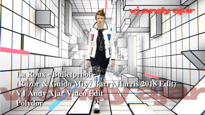 La Roux - Bulletproof (Razor Guido Remix / Barry Harris 2018 ReEdit)