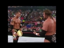 WWE.Monday.Night.Raw.2004.08.23 - Randy Orton spits in Triple H's face