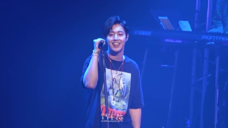 20181022 Osaka👉So What 『KIM HYUN JOONG JAPAN TOUR 2018 一緒に Take my hand』