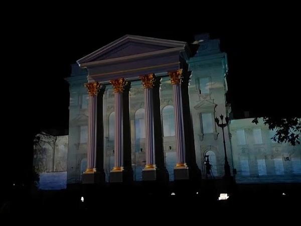 Световое шоу Круг света в Севастополе 22.09.2018 Часть 1