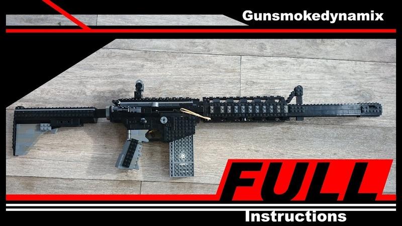 FULL INSTRUCTION working lego M4a1 v2
