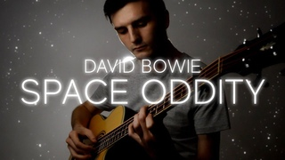 David Bowie - Space Oddity - Fingerstyle Bass Cover [FREE TABS]