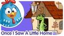 Lottie Dottie Chicken   Nursery Rhymes For Kids   Once I Saw A Little Home   Songs for Kids