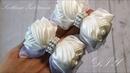 Белые школьные бантики из ленты 25 мм 🎀 Мастер класс 🎀 Svetlana Zolotareva