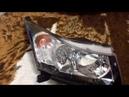 Замена габаритной лампы на Шевроле Круз видео