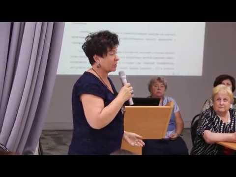 Людмила Хоппе (Берлин, ФРГ). Международный симпозиум «Специфические языковые расстройства у детей»