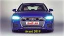 Новый универсал Audi A6 Avant 2019