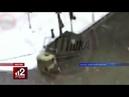 Камеры сняли, как грузовик с песком уничтожил такси в ДТП на юге Москвы