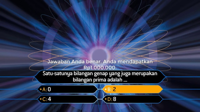 Who Wants to be a Millionaire? - classic graphics recreation (2) - First safe level