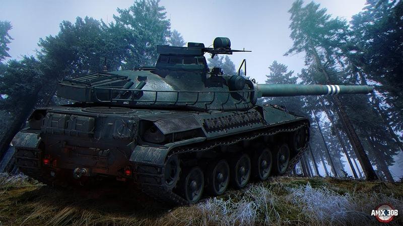 AMX 30 - пока без B ( Долгий путь к 10 ур. )