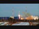 """Пуск ракеты-носителя """"Союз-2.1а"""" с космодрома Восточный"""