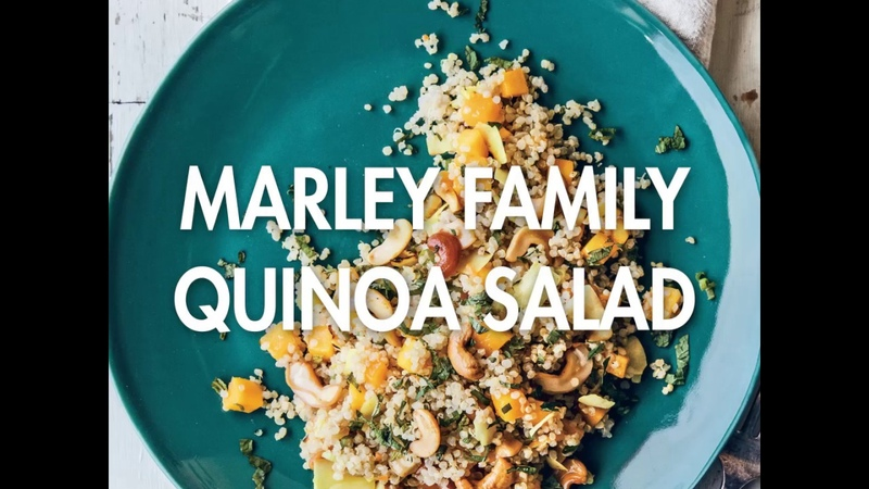 Marley Family Quinoa Salad, Recipe How To Video - from Cooking With Herb