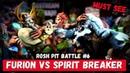 ROSH PIT BATTLE 6   NATURE'S PROPHET vs SPIRIT BREAKER   DOTA VERSUS RAP BATTLE