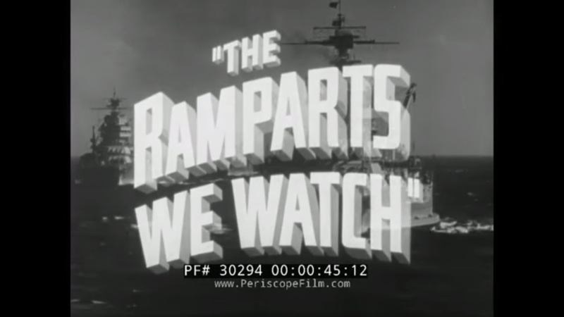 RKO RADIO PICTURES THE RAMPARTS WE WATCH UNITED STATES 1914-1918 WORLD WAR I REEL 1 30294
