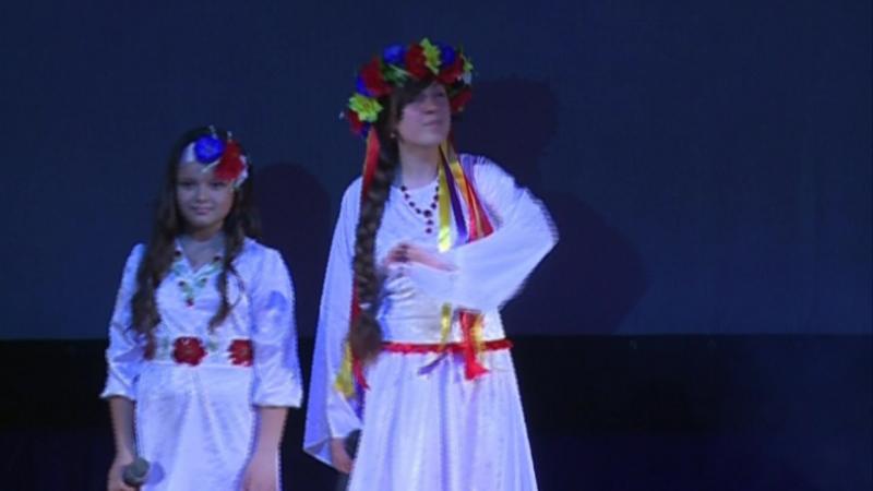 Диана Насекина (11 лет) и Анна Нилова (14 лет) - Сіла птаха