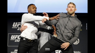 Jon Jones Shoves Alexander Gustafsson at UFC 232 Staredown - MMA Fighting