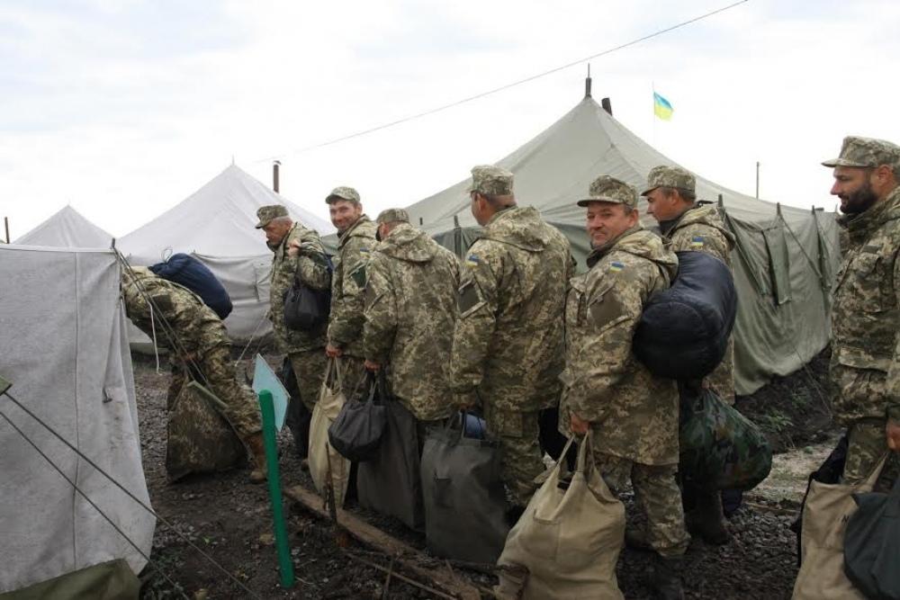 В Северодонецке были объявлены сборы резервистов