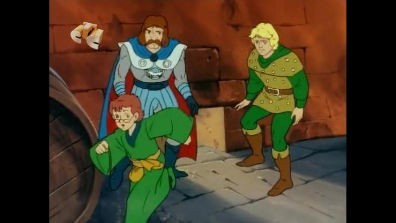 Подземелья и Драконы 1.8 Слуга зла Servant of Evil Dungeons and Dragons