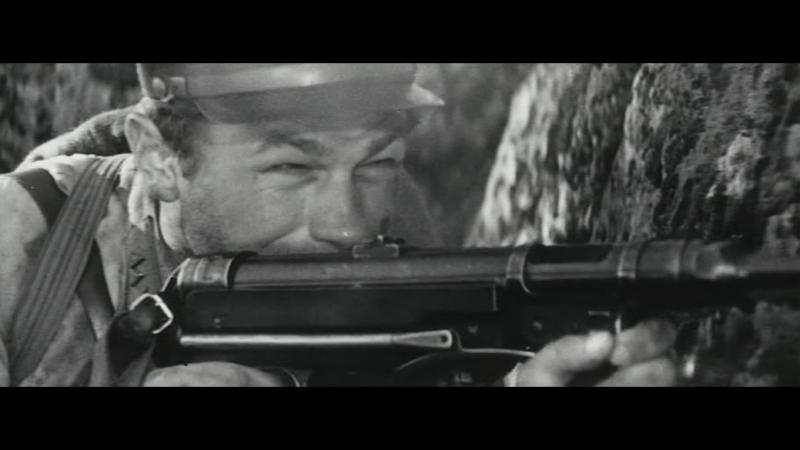 А зори здесь тихие 1972 Бой зенитчиц и Васкова с немецкими парашютистами