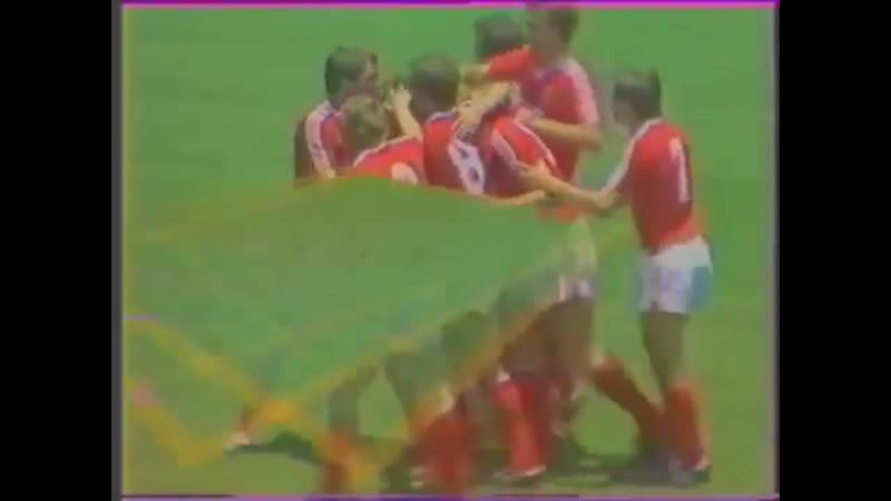Франция 1-1 СССР / FIFA World Cup 1986 / France vs Soviet Union (USSR)