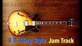 B.B. King Style Blues Jam Backing Track (G)