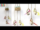 Best out of waste old bangles DIY wall hanging idea showpiece easy craft
