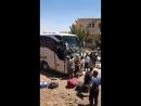 В пр. Кунейтра автобус совершил наезд на семью, боевики ССА в ответ сразу расстреляли водителя
