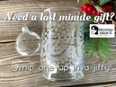 Quick Last Minute Gift Glass Etching