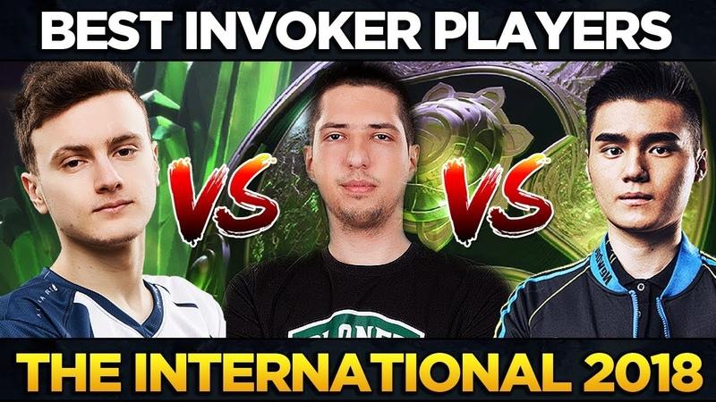 Miracle- vs SCCC vs w33 - BEST Invoker Players The International 2018 - EPIC Gameplay Dota 2 TI8