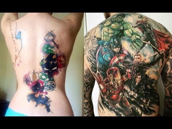 Marvel Tattoos | Татуировки супергероев | DC | Tattoos