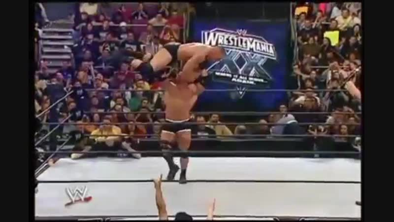 Goldberg gorilla press Brock lesnar