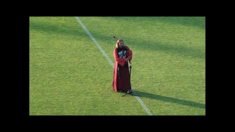 Alex Clover of FRAM - Hallelujah - волынка на гомельском стадионе