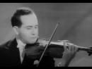 Никколо Паганини. Кампанелла. Соч. 7-bis. Играет Игорь Ойстрах (скрипка), 1962