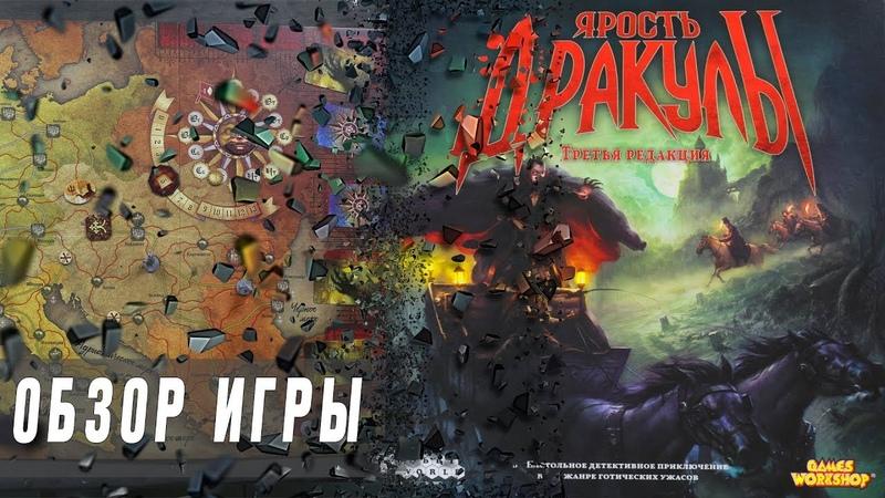 Обзор настольной игры Ярость Дракулы 3 я редакция