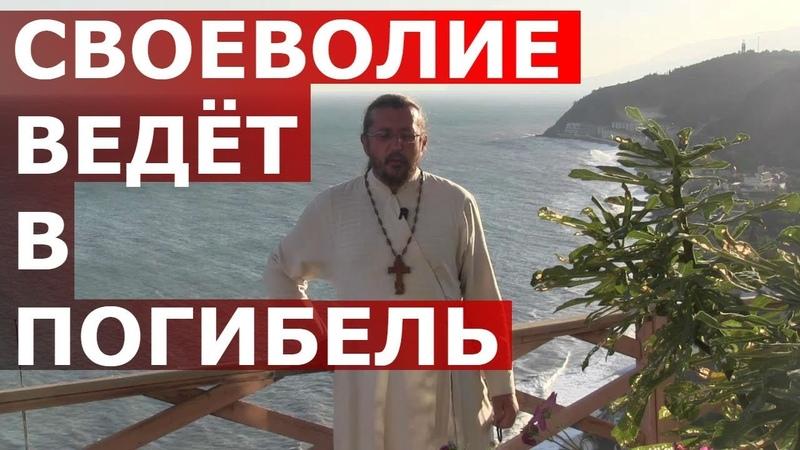 Своеволие ведёт в погибель. Священник Игорь Сильченков